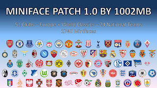 1002MB PES 2017 Mini Face Pack