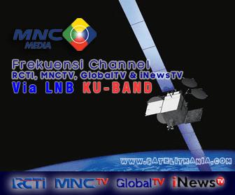 Frekuensi RCTI, MNCTV, Global tv dan iNewsTV Menggunakan LNB KU Band