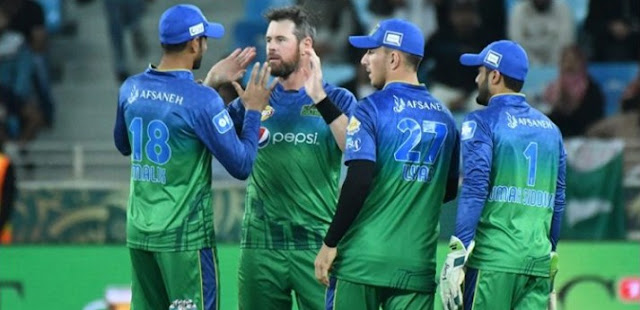 Multan Sultan's second success, Islamabad United beat by 6 wickets