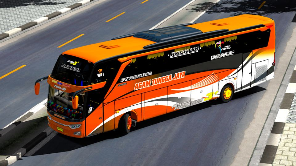 Skin Atj Pack For Jetbus 3 Ojepeje Mod Ets2 Indonesia