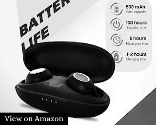 Bazzpod Bean Wireless Earbuds with Deep Bass