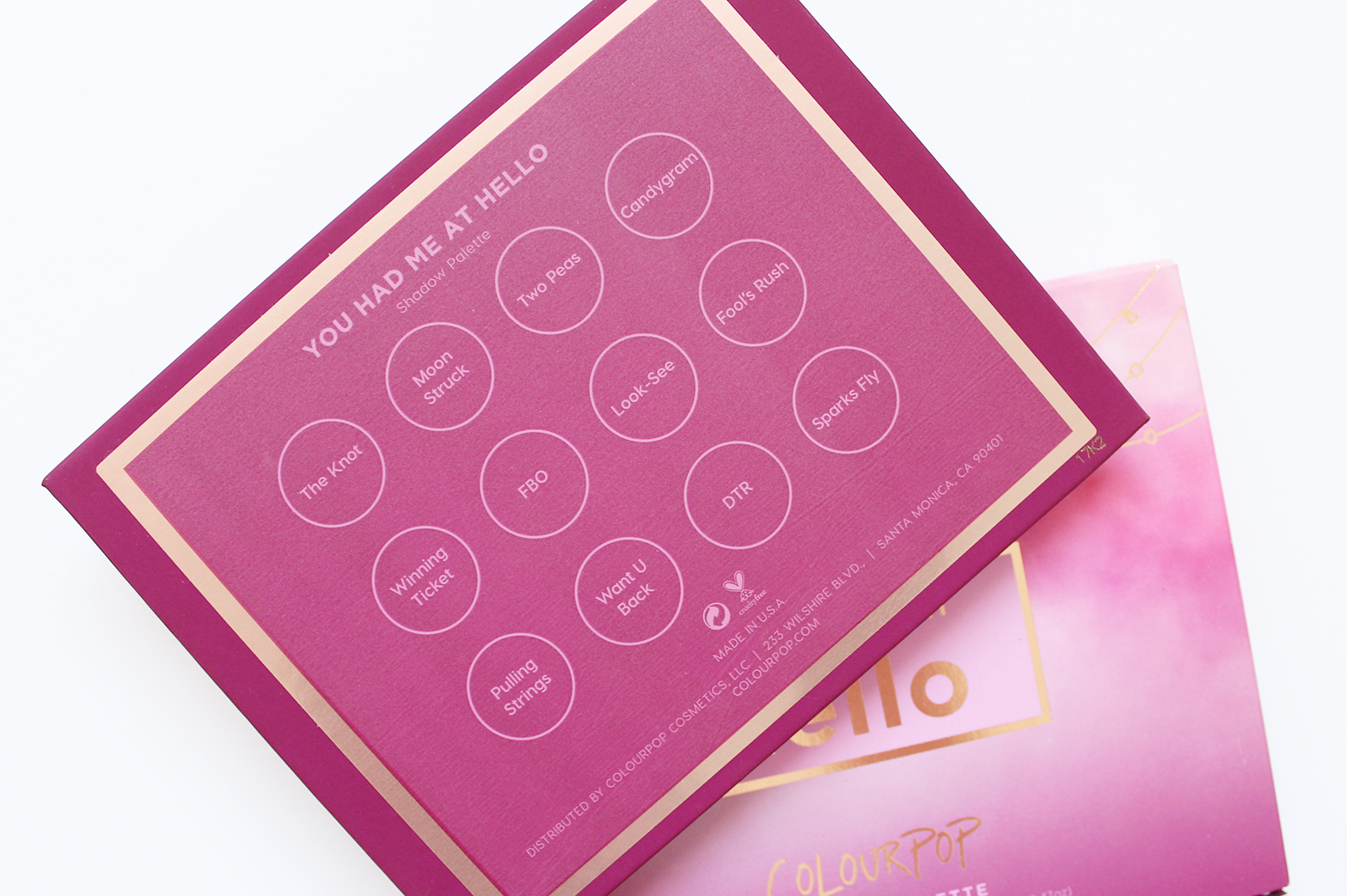 COLOURPOP | You Had Me At Hello Pressed Shadow Palette - Review + Swatches - CassandraMyee