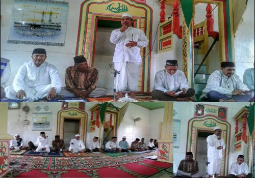 Kemenag Malteng Peringati Isra Mi'raj di Desa Kulur Kecamatan Saparua