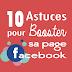 Les 10 petites astuces pour booster ma page Facebook
