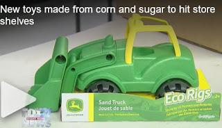 John Deere Toys, eco toys, bio toys