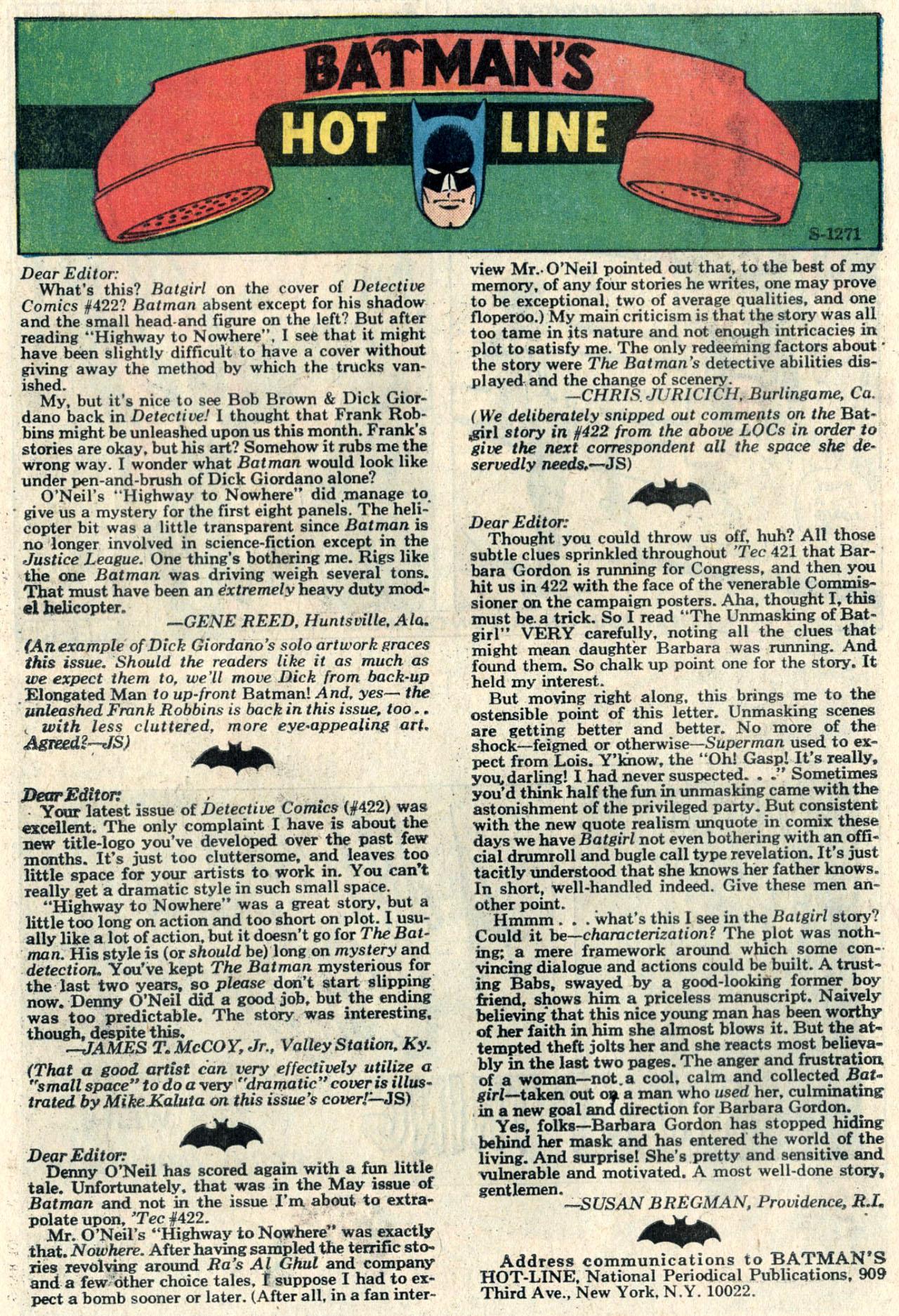 Detective Comics (1937) 426 Page 35