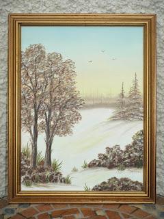 Ty Siriol paintings Chris Powell