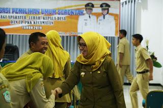 Wabup Indah Buka Sosialisasi Pemilu 2019