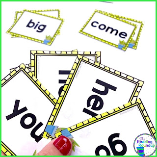 Sight word practice is essential for students in kindergarten, 1st, and 2nd grade. Students can play this fun and FREE sight word Go Fish game with flash cards.