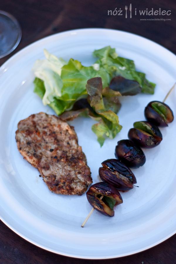 wieprzowina, grill, berbere