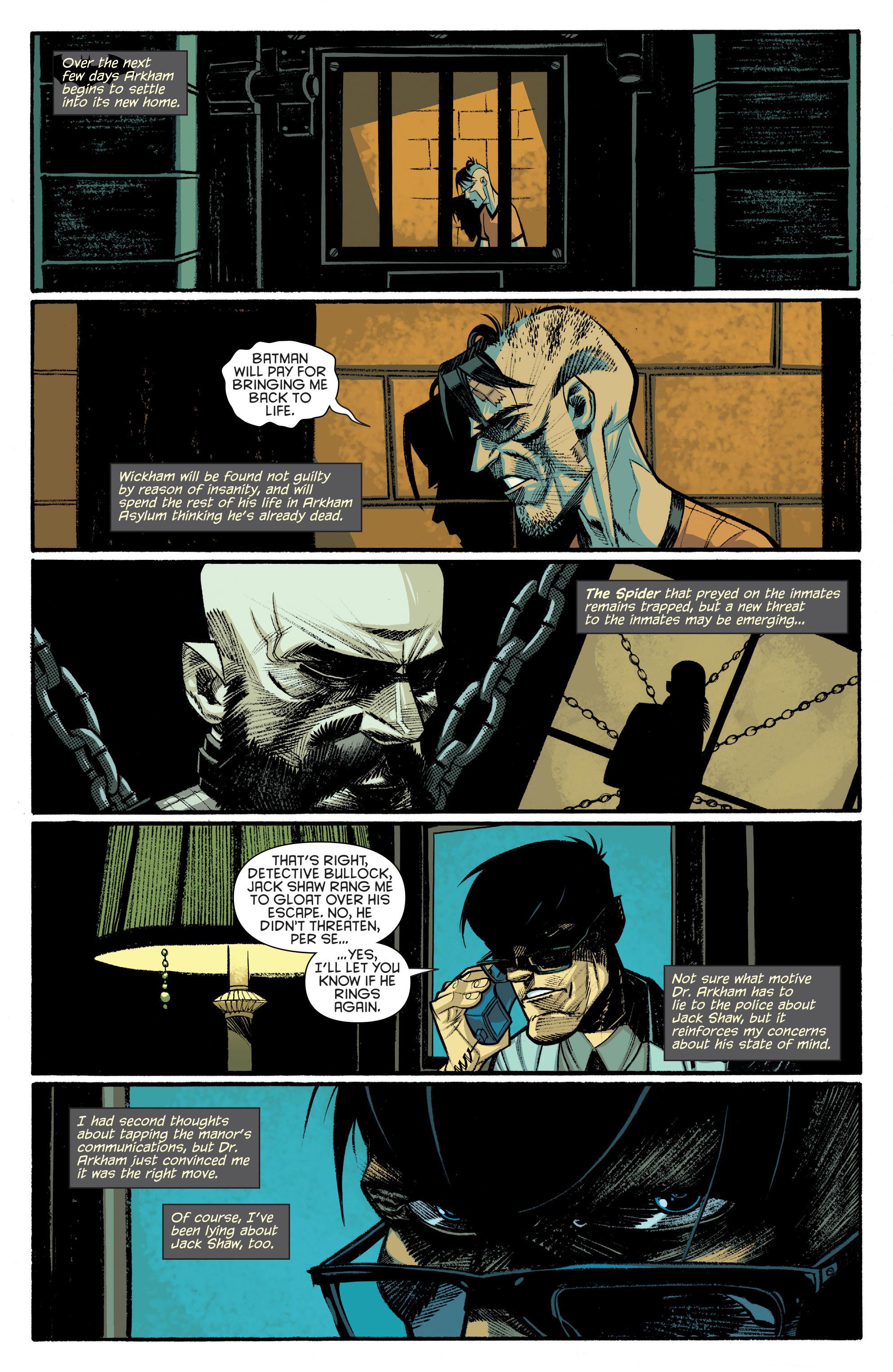Read online Arkham Manor comic -  Issue #6 - 11