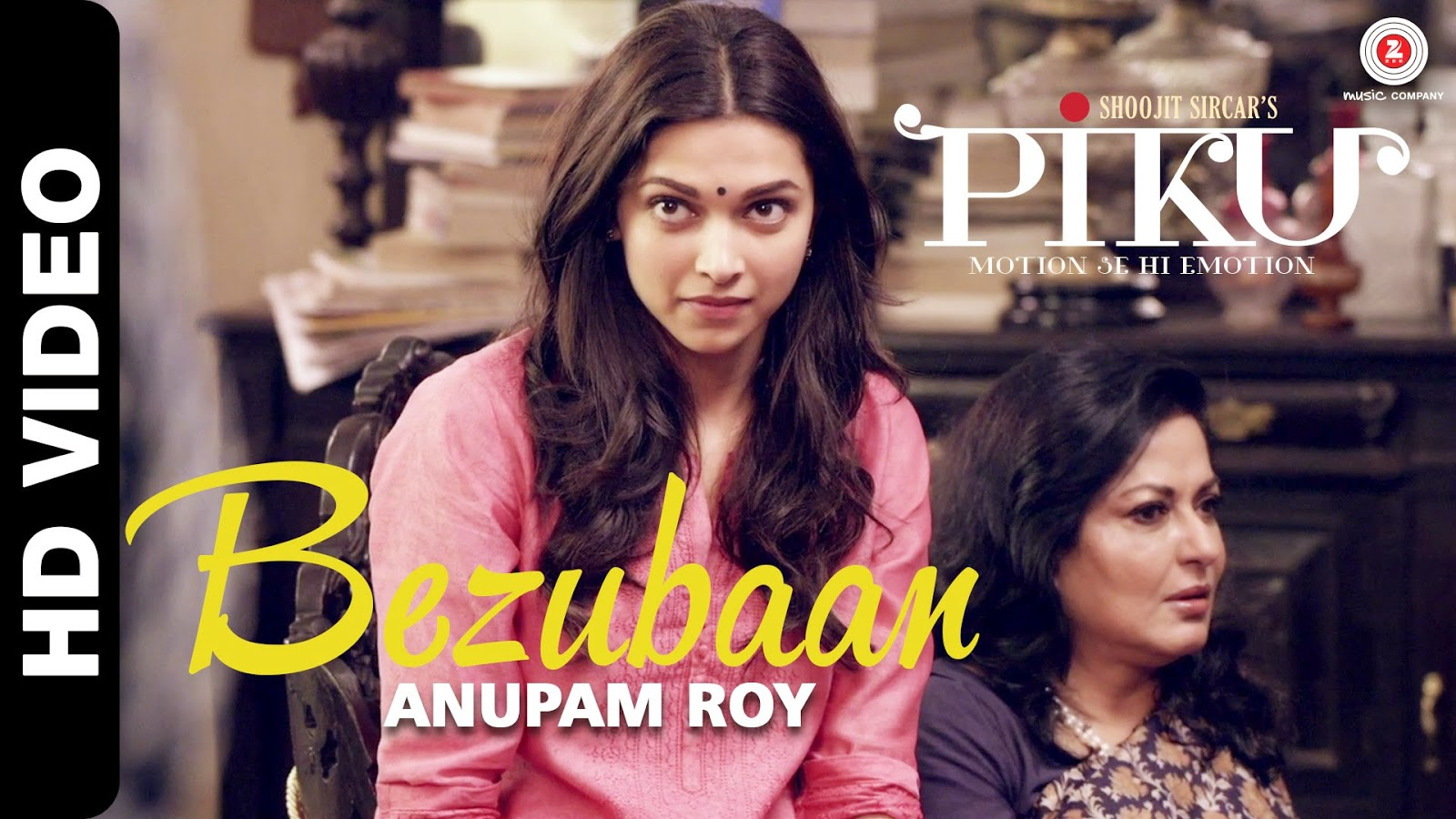 Bezubaan HD Video Song Deepika Padukone Anupam Roy Piku
