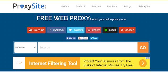 3 Proxy Gratis untuk membuka web yang Di blokir