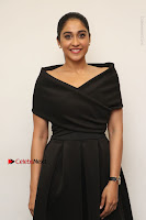 Actress Regina Candra Pos in Beautiful Black Short Dress at Saravanan Irukka Bayamaen Tamil Movie Press Meet  0015.jpg