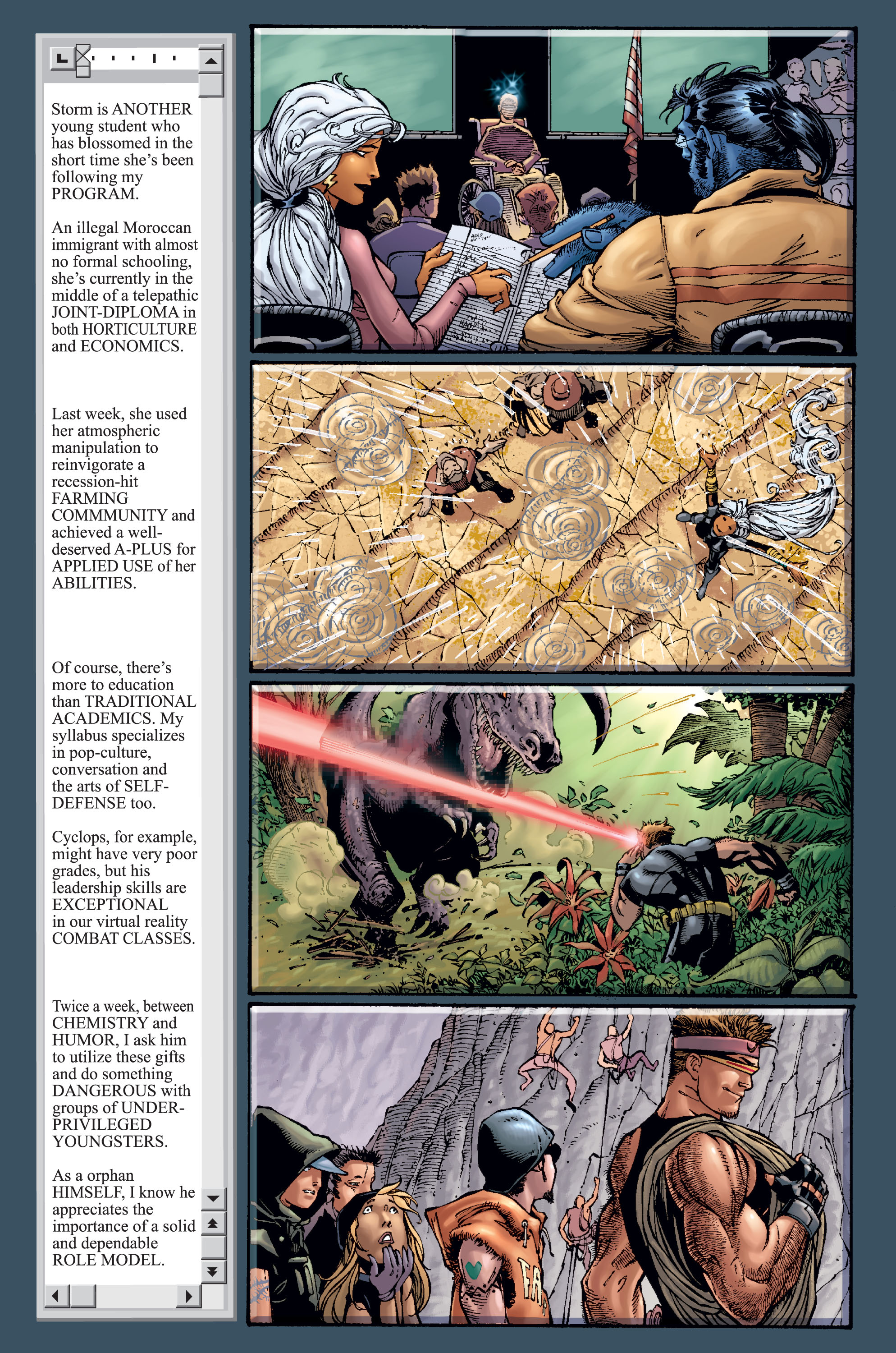 Read online Ultimate X-Men comic -  Issue #15 - 9