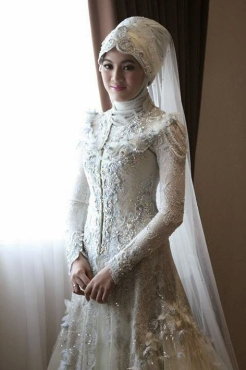 Model Kebaya Hijab Untuk Akad Nikah Model Kebaya Terbaru 2019