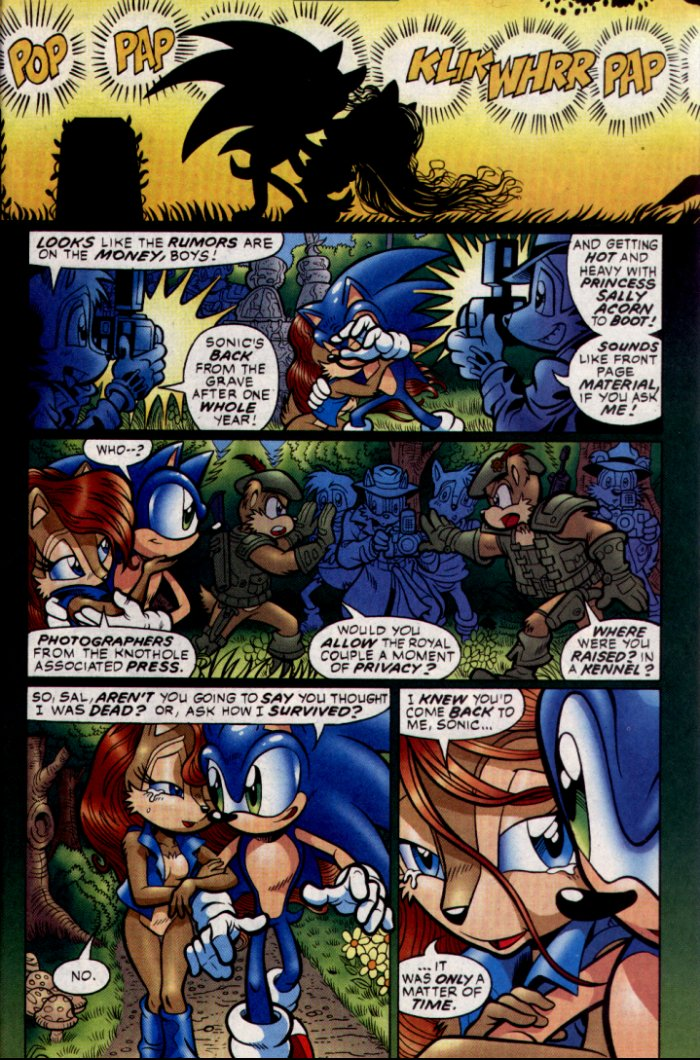 Read online Sonic The Hedgehog comic -  Issue #130 - 20