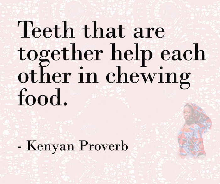 Working Together African Proverbs