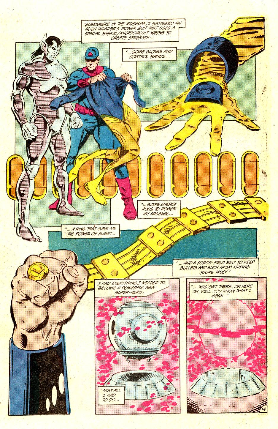 Read online Secret Origins (1986) comic -  Issue #35 - 21