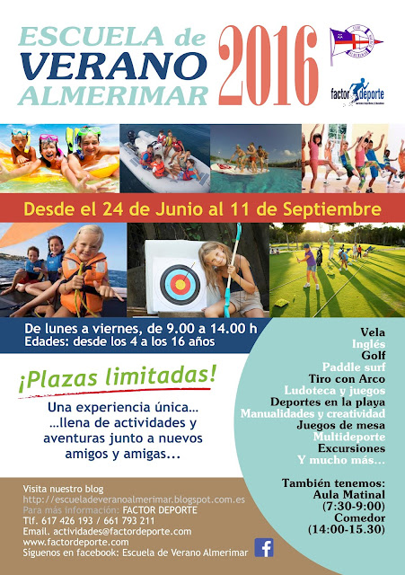 Escuela de verano almerimar for Oficina 3058 cajamar