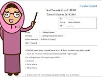 Soal Tematik Kelas 2 Tema 1 Subtema 1 Semester 1