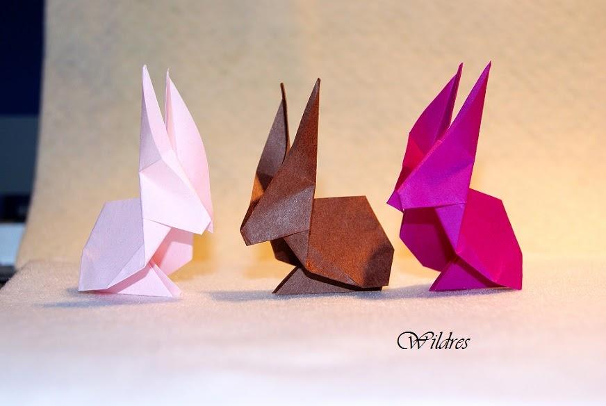 Origami Osterhase Faltanleitung Einfach : wildres faltanleitung origami hase ~ Watch28wear.com Haus und Dekorationen