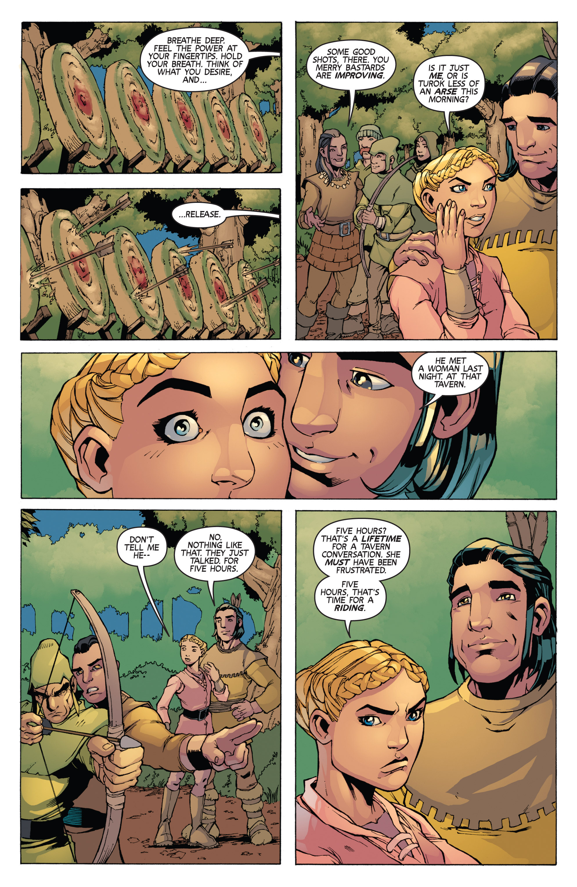 Read online Turok: Dinosaur Hunter (2014) comic -  Issue # _TPB 3 - 66