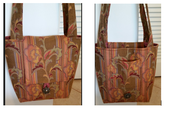 Wally Works Quilting Bosal Tote Bag With Secret Pocket