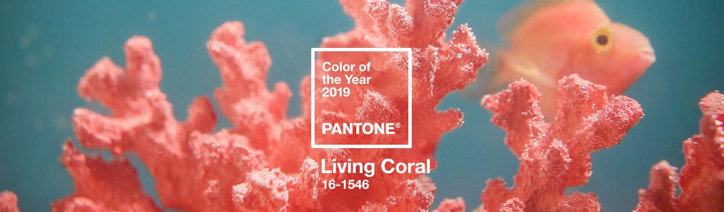 Living Coral nail polish