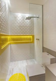 ديكورات جدران حمامات مودن بالصور