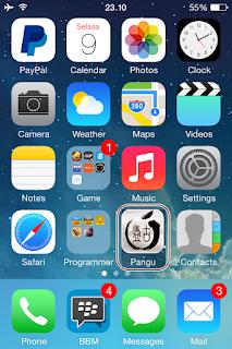 Cara Jailbreak Iphone4 IOS 7.1.2 Menggunakan Pangu