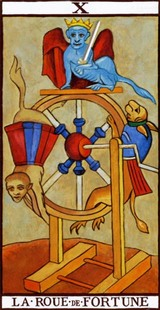 LA carte de la roue de la fortune