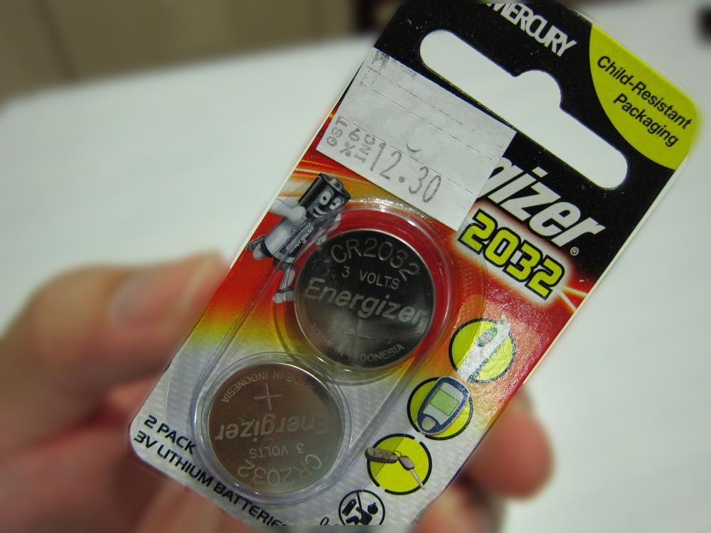 Perodua Bezza: Perodua Bezza Smart entry key - Battery