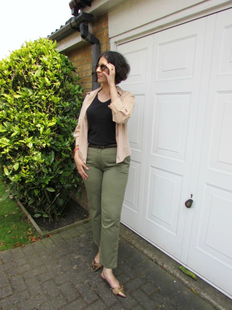 How I wear khaki trousers summer 2016