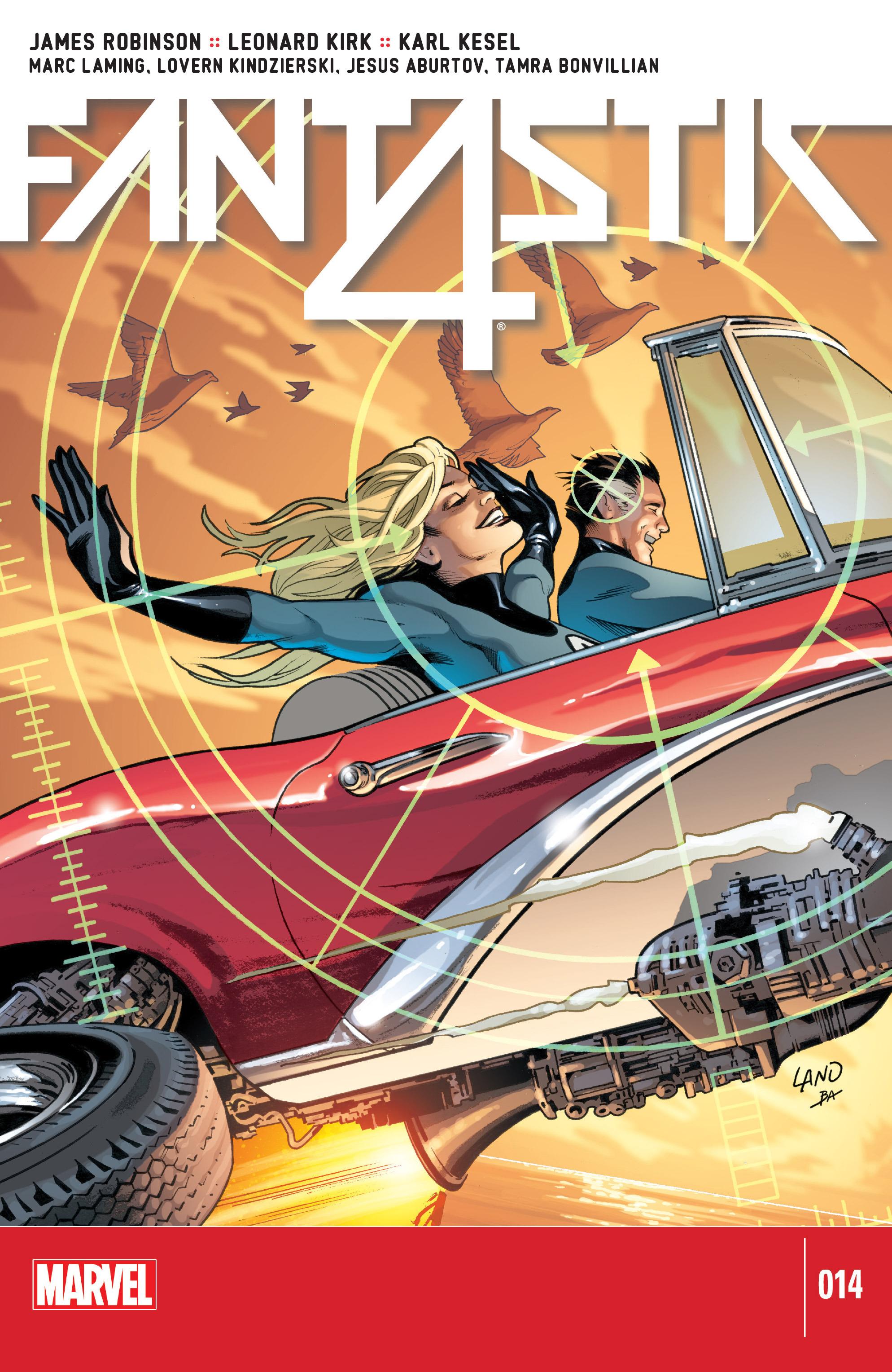 Fantastic Four (2014) 14 Page 1
