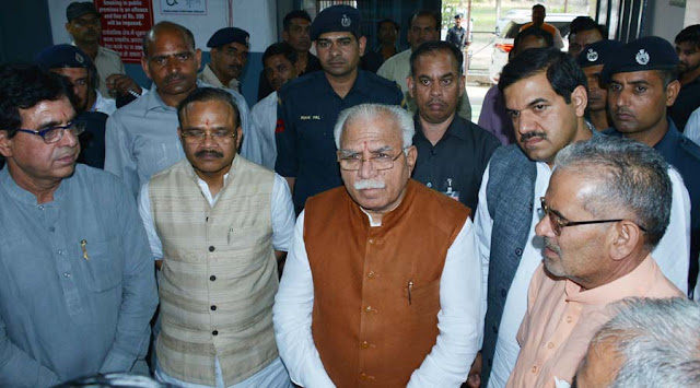 Community Health Center will be developed as soon as Khera Kalan Health Center; Manohar Lal