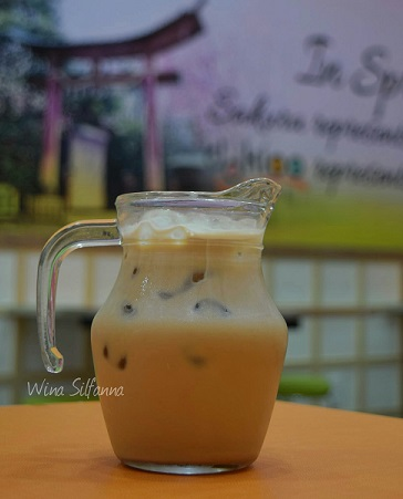 Milk Tea Dokioo Dessert Cemara