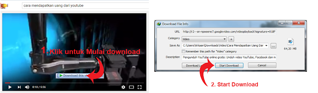 Cara download video di youtube dengan IDM