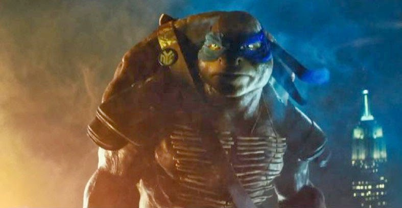 Teenage Mutant Ninja Turtles new movie trailer Leonardo