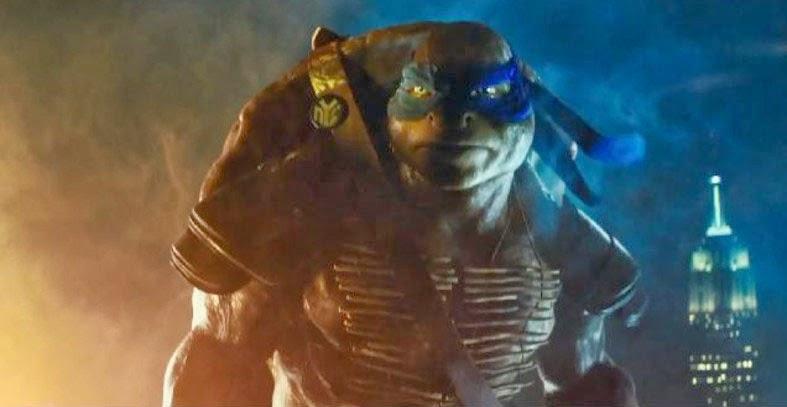 Teenage Mutant Ninja Turtles new movie trailer Leonardo