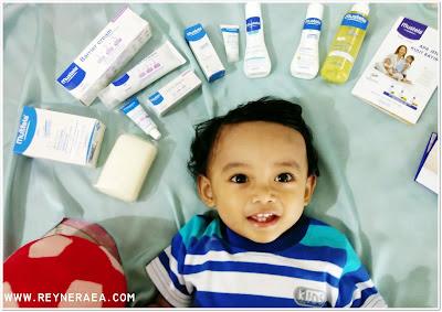 rawat kulit sensitif bayi dengan mustela