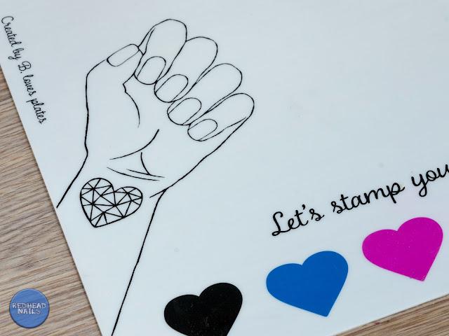 stamping mat