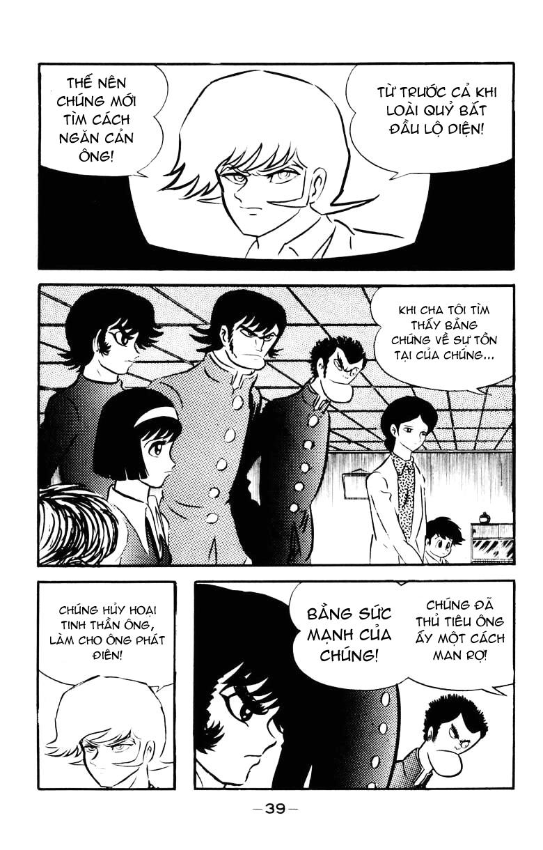 DevilMan chapter 22.1 trang 34