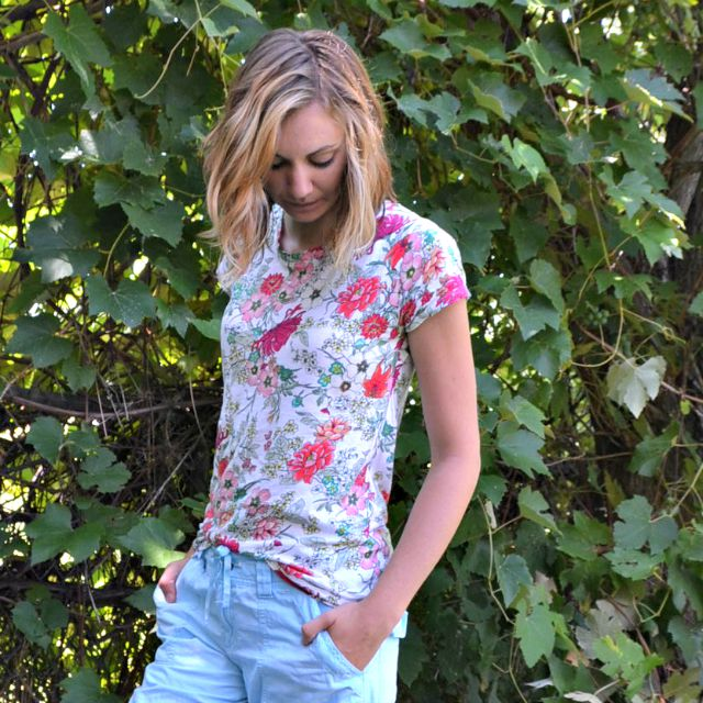 Me Made: Floral Union St Tee
