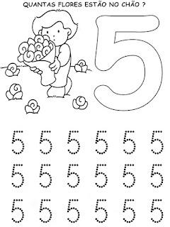 5 - Atividades com Números Educação Infantil