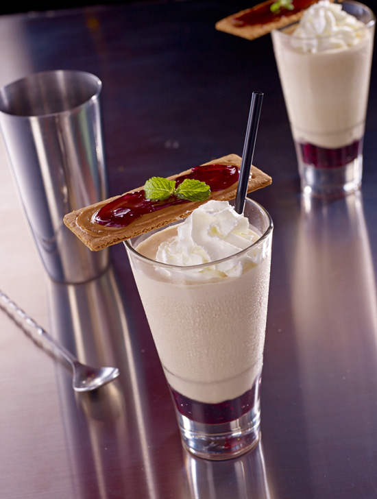 TGI Fridays, Taste of New York, Broadway Peanut Butter Jelly Milkshake