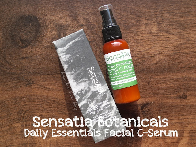 Sensatia Botanicals Daily Essentials Facial C Serum for Oily Combo Skin Review