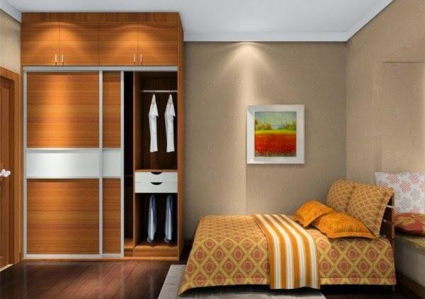 Desain kamar tidur minimalis utama yang elegan