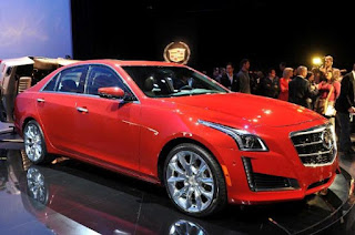 Cadillac CTS elegance and dramatic