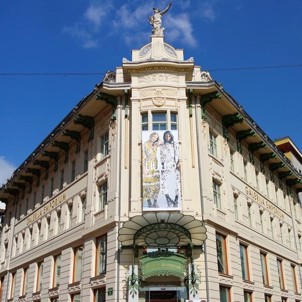 ljubljana art nouveau miklošičeva cesta maison urbanc galerie emporium